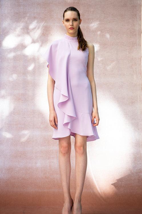 Lilac Wave Dara Dress