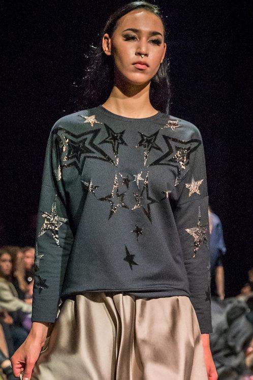 Bronze and Black Stellar Sweatshirt