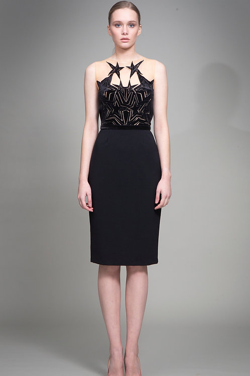 Black Cassiopeia Dress