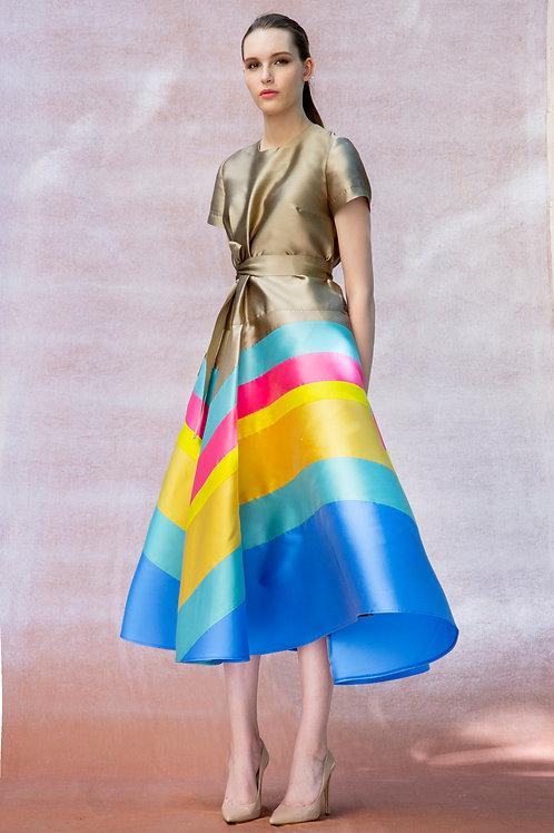 Rainbow Rita Dress