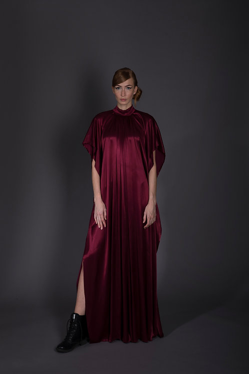 Burgundy Battleship Dress