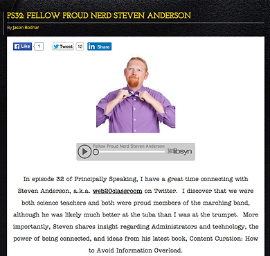 Fellow Proud Nerd Steven Anderson. Listen to the podcast to learn more about Steven W. Andeson