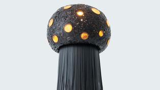 巢 Nest Floor Lamp
