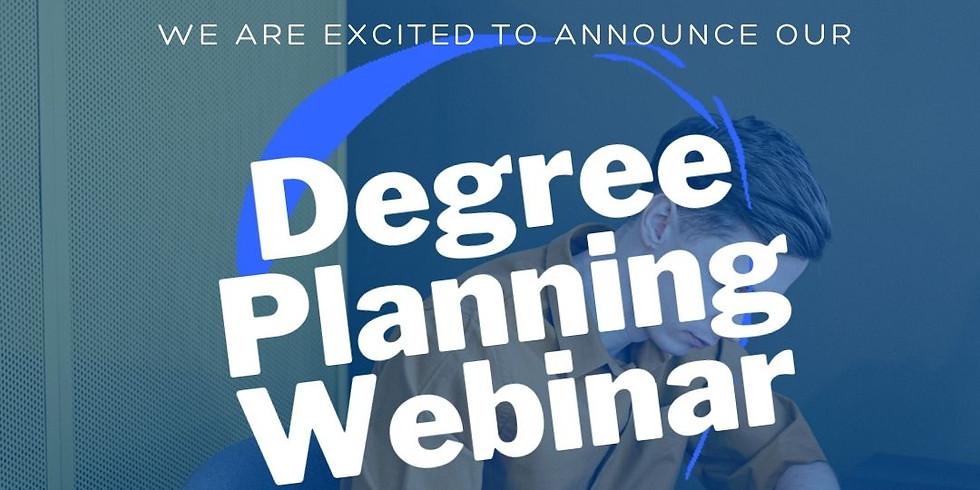 Degree Planning Webinar