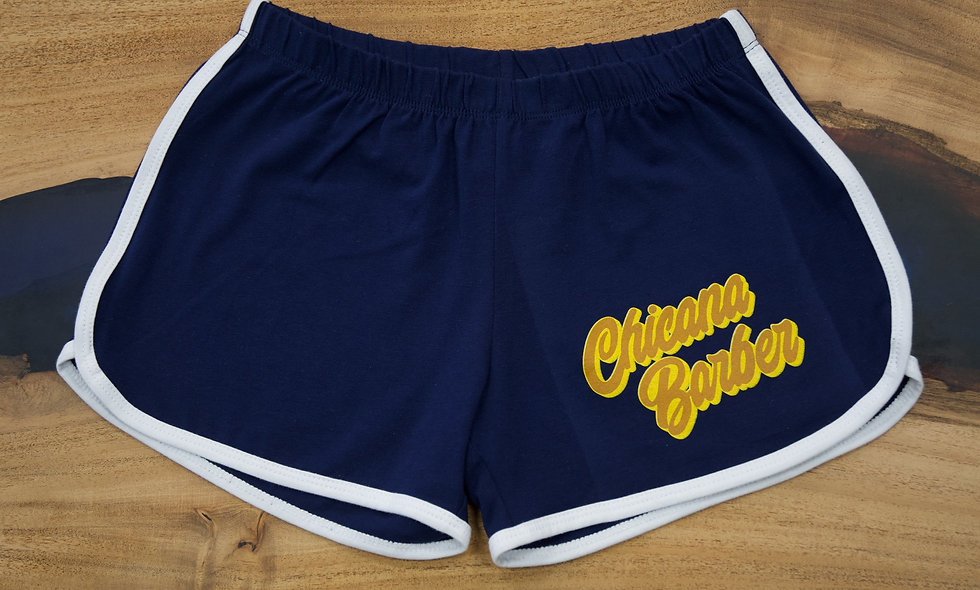 SUPER 70's CHICANA BARBER DERBY GIRL SHORTS