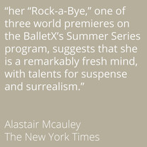 Alastair Mcauley on Rock-a-Bye