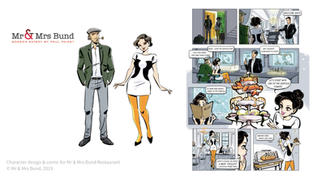mr & Mrs bund comics