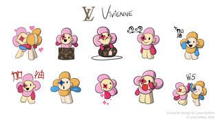 vivienne - Louis Vuitton