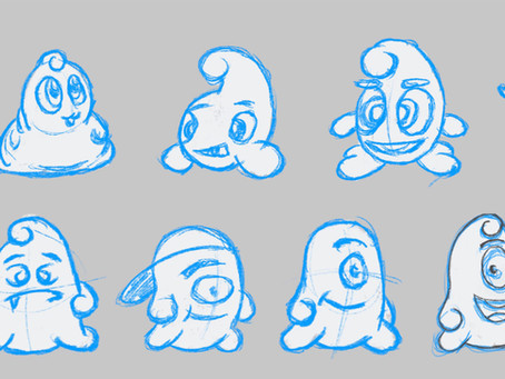 Sketching your Brand Mascot Character