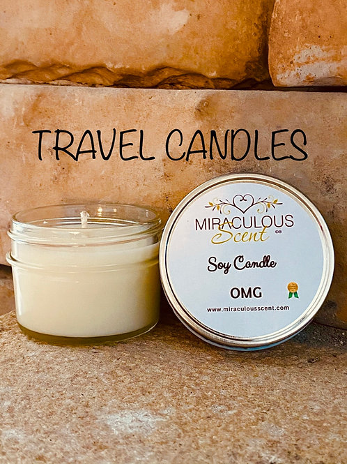 Travel size Soy Candle