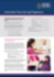 Antenatal care during pregnancy