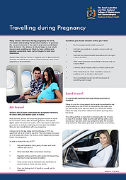Pregnancy an travel