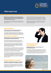 Introduction to menopause