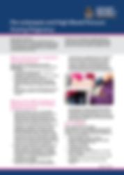Pre-eclampsia and hypertension in pregnancy