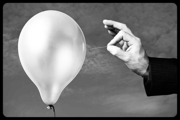 Pop goes the digital bubble