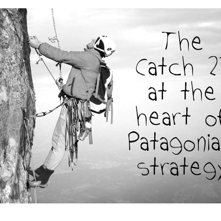 The Catch 22 at the heart of Patagonia's strategy