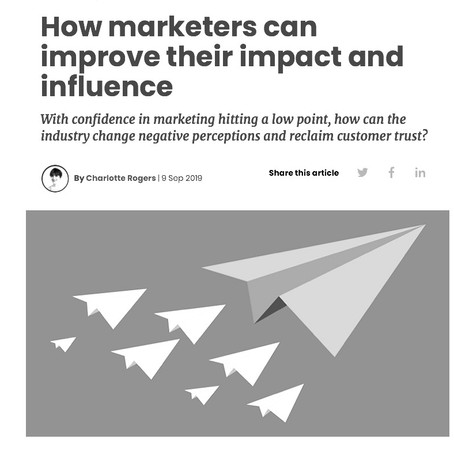 How marketers can improve their impact and influence