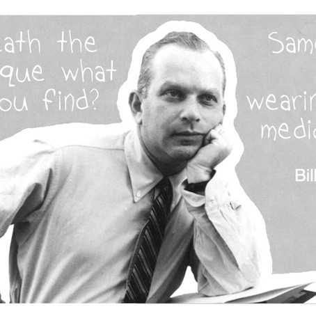 "Bill Bernbach: ""Beneath the technique what do you find? Sameness, mental weariness & mediocrity"""