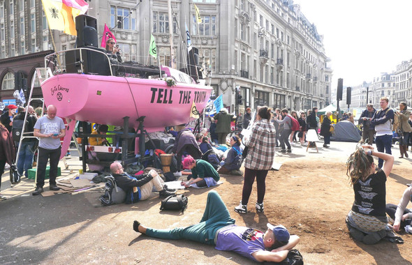 The Long View - Extinction Rebellion 2019 and The Battle for Seattle 1999