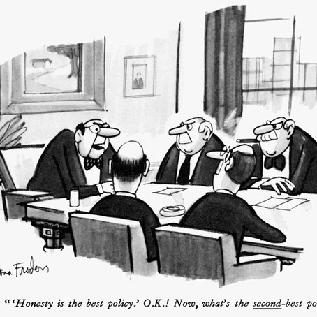 So what's the second-best policy?
