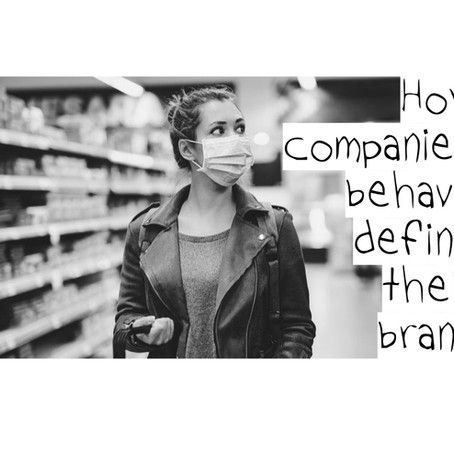How companies behave define their brand