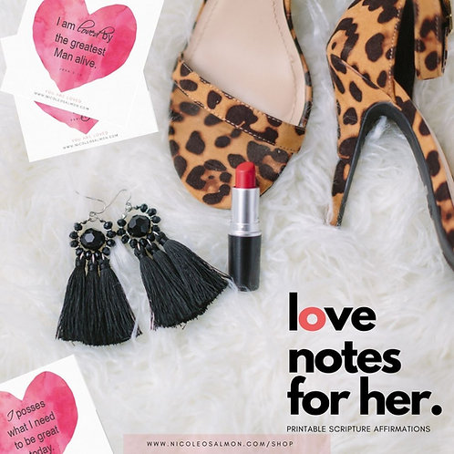 Affirmations: Love Notes for Her