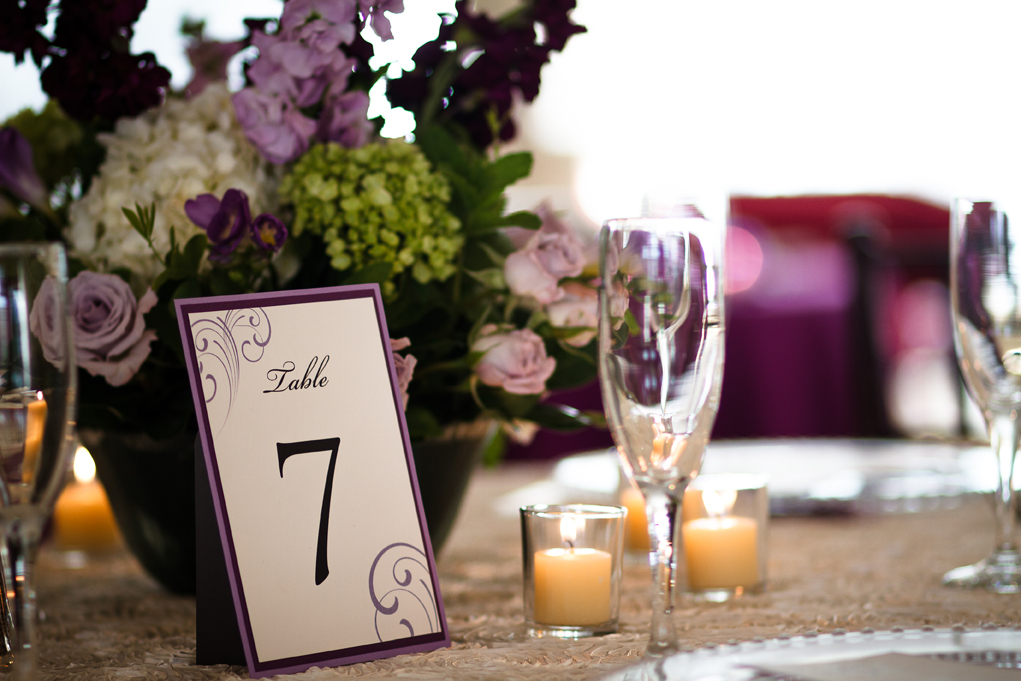 Easel-backed Table Numbers