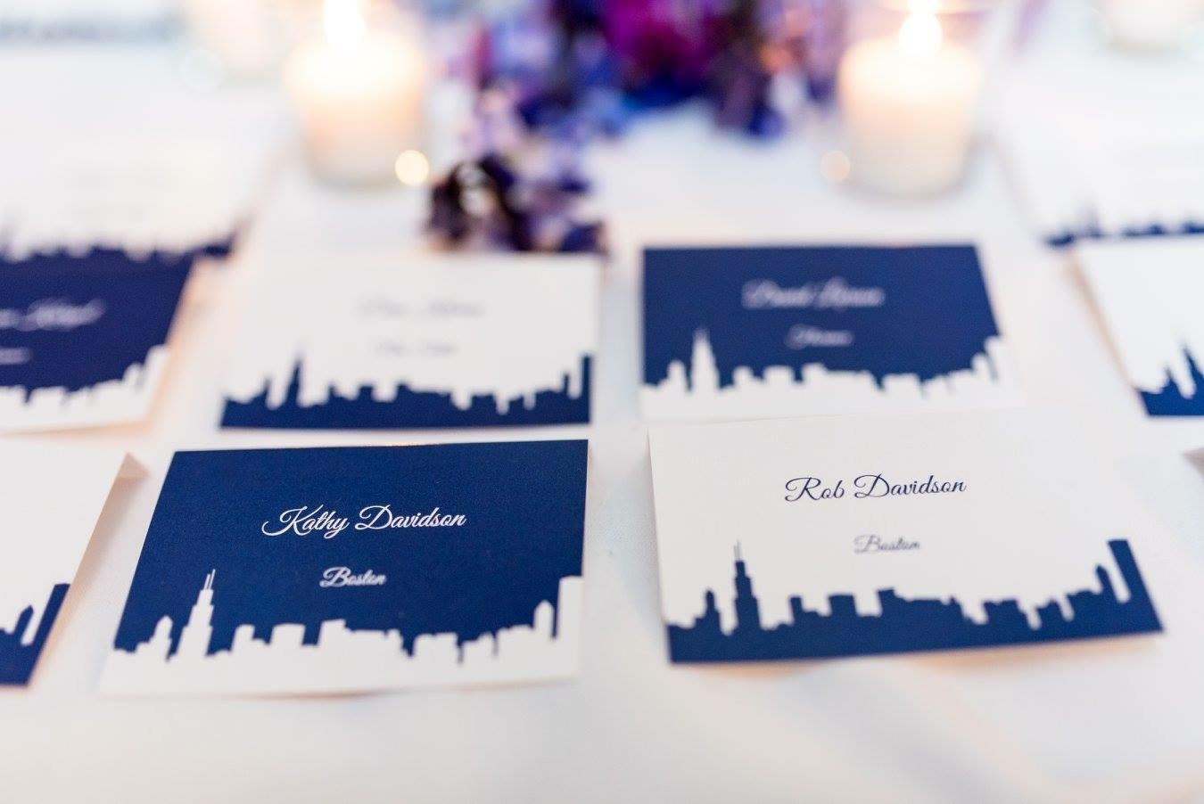 Low Profile Escort Cards