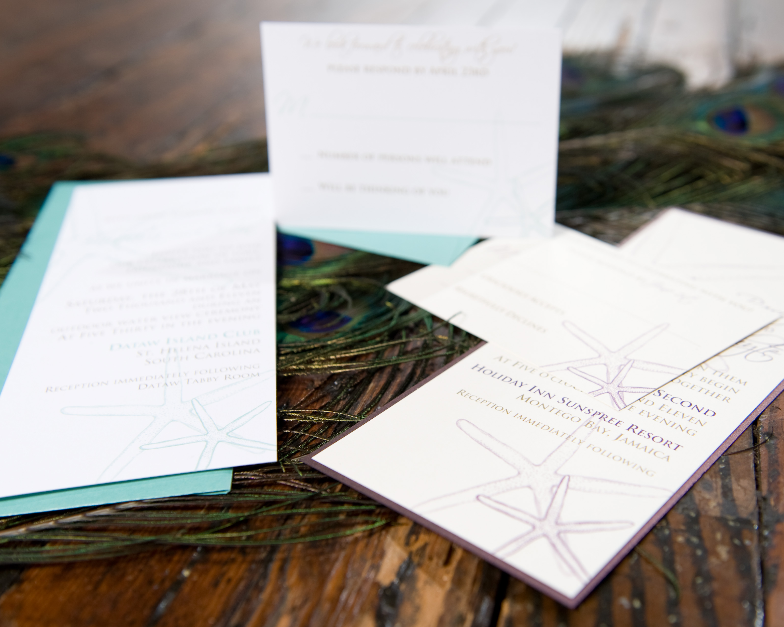 The Catherine Starfish Invitation