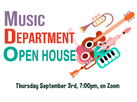 Music Department Open House!