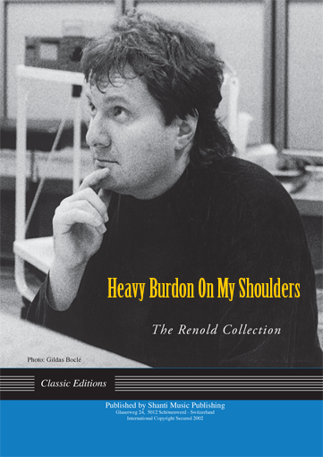 Heavy Burden on my Shoulders
