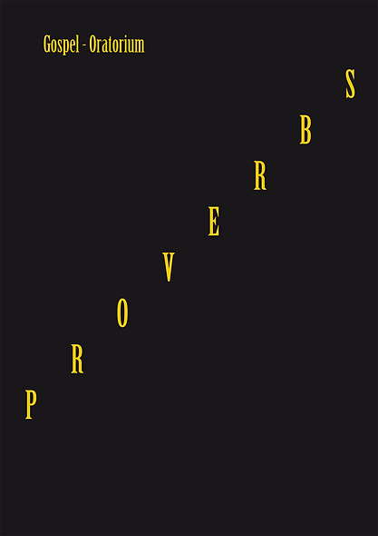 Proverbs - All scores in Book Format