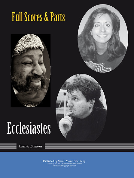 Ecclesiastes - Scores and Parts of all Movements