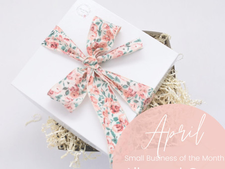 April Small Business Feature: Lily and Grey