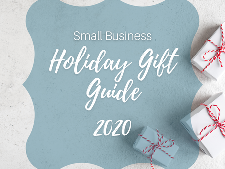 2020 Small Business Holiday Gift Guide