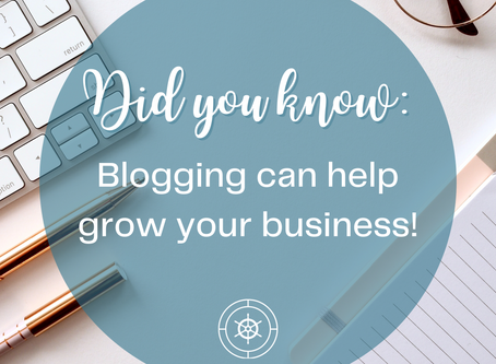 Why Your Small Business Needs to Start Blogging!