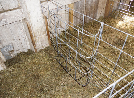 Building Feeders for Lambing Jugs