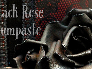 Black Rose Gumpaste