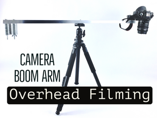 Camera Boom Arm - Overhead Filming
