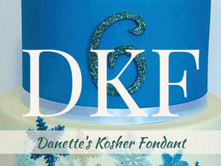 DKF - Danette's Kosher Marshmallow Creme Fondant