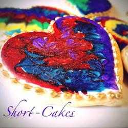 Tie Dyed Sugar Cookies