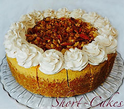 pumpkin streusel cheesecake