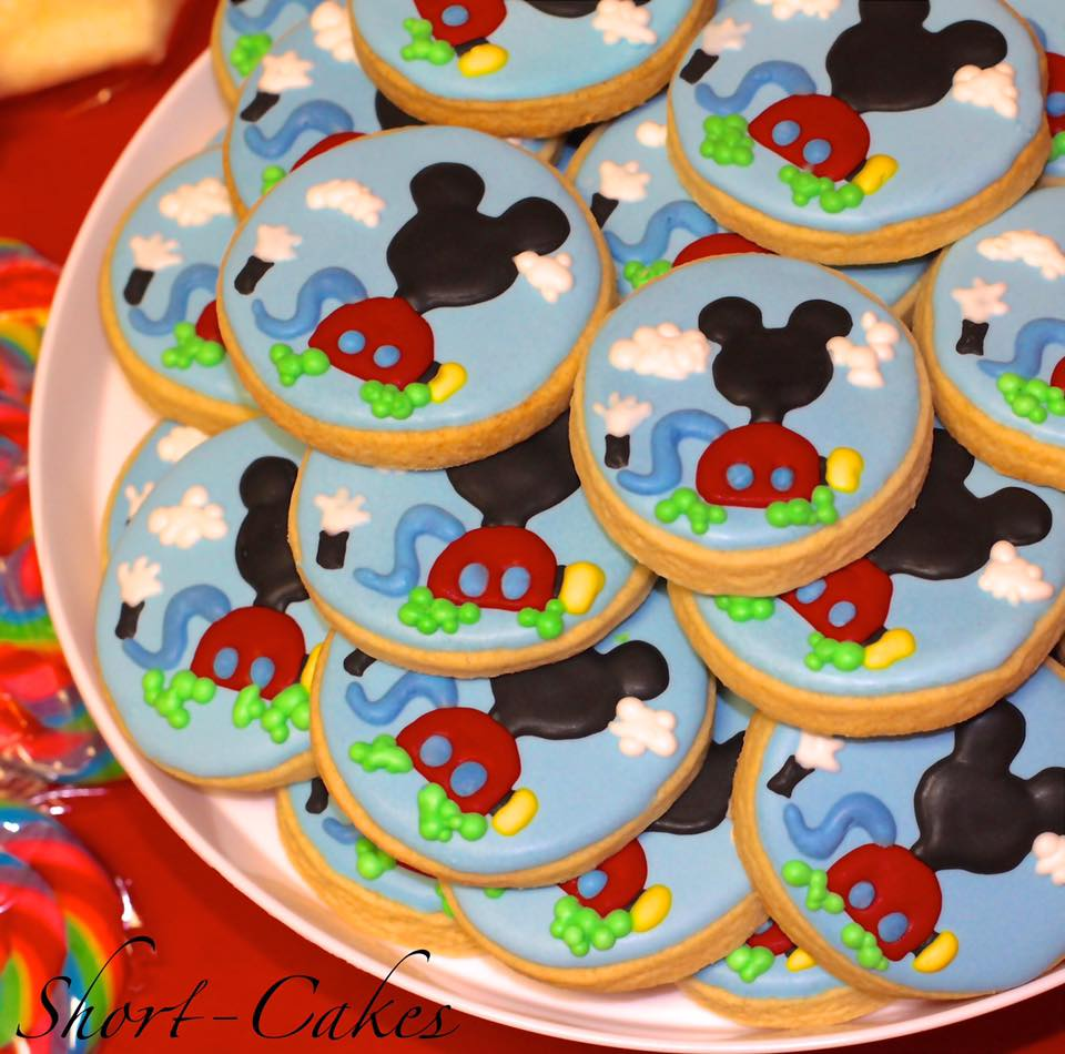 Mickey Mouse Club House Sugar Cookie