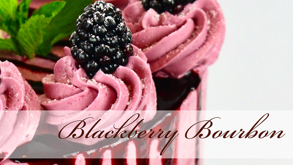 Blackberry Bourbon Cake