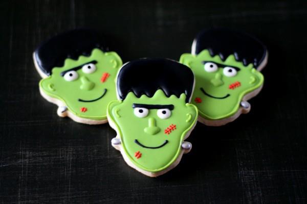 Frankenstein Sugar Cookies