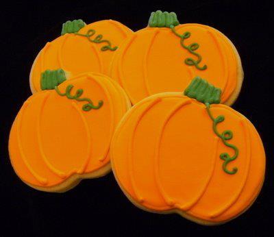 Pumpkins or Jack o lantern faces!