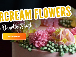 Sugar Geek Show!                        Buttercream Flowers - Part 1