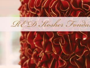 DKF Red/Black Fondant (Danette's Kosher Fondant)