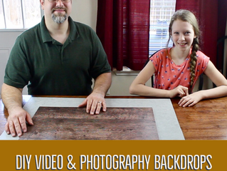 DIY Video and Photography Backdrops: Filming in Small Spaces