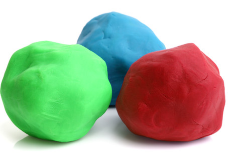 The Rock & The Play-Doh